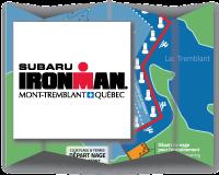 Ironman Swim Training Mont Tremblant